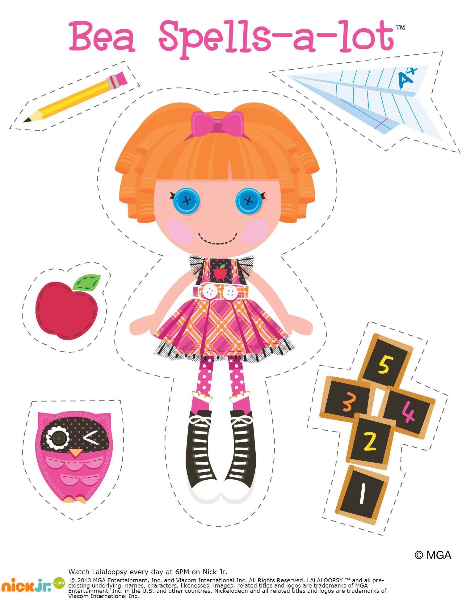 Lalaloopsy bea spells a lot paper dolls pinterest lalaloopsy lalaloopsy bea spells a lot filmwisefo