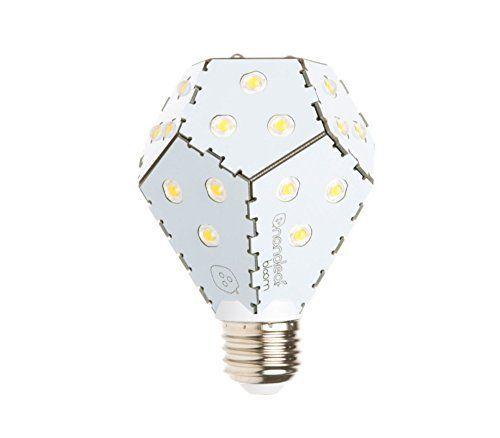 Ampoule LED Bloom 10W E27 - marque Nanoleaf - système exclusif : dimmable sans variateur de lumière - angle 120° - 1200lm - 3000K blanc…
