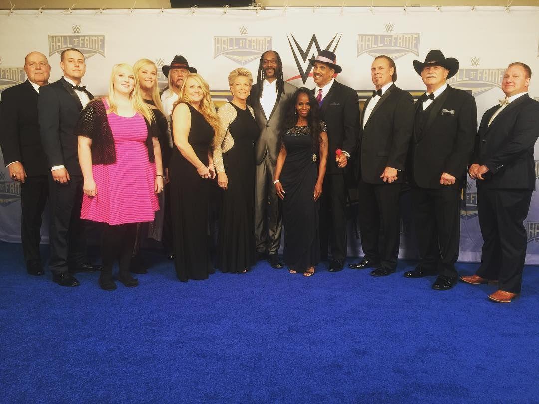 The #WWEHOF Class of 2016! #WWENetwork #WrestleMania #WWE
