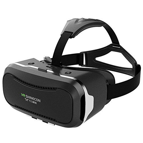 fa36f1044126 Shonfiel Fashion Immersing 3D VR Shinecon Watching Device 2nd Generation  Virtual Reality Glasses with Headset Strap Box Videos Movies Games Goggle …