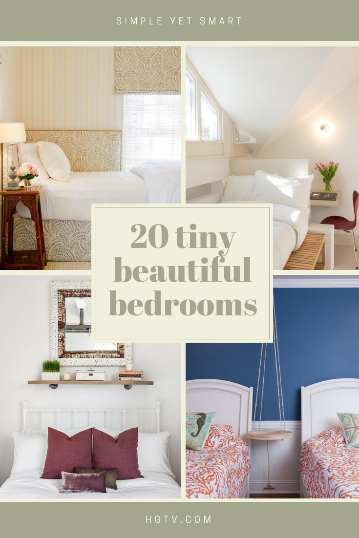Arranging And Decorating A Small Bedroom Can Be A Challenge But