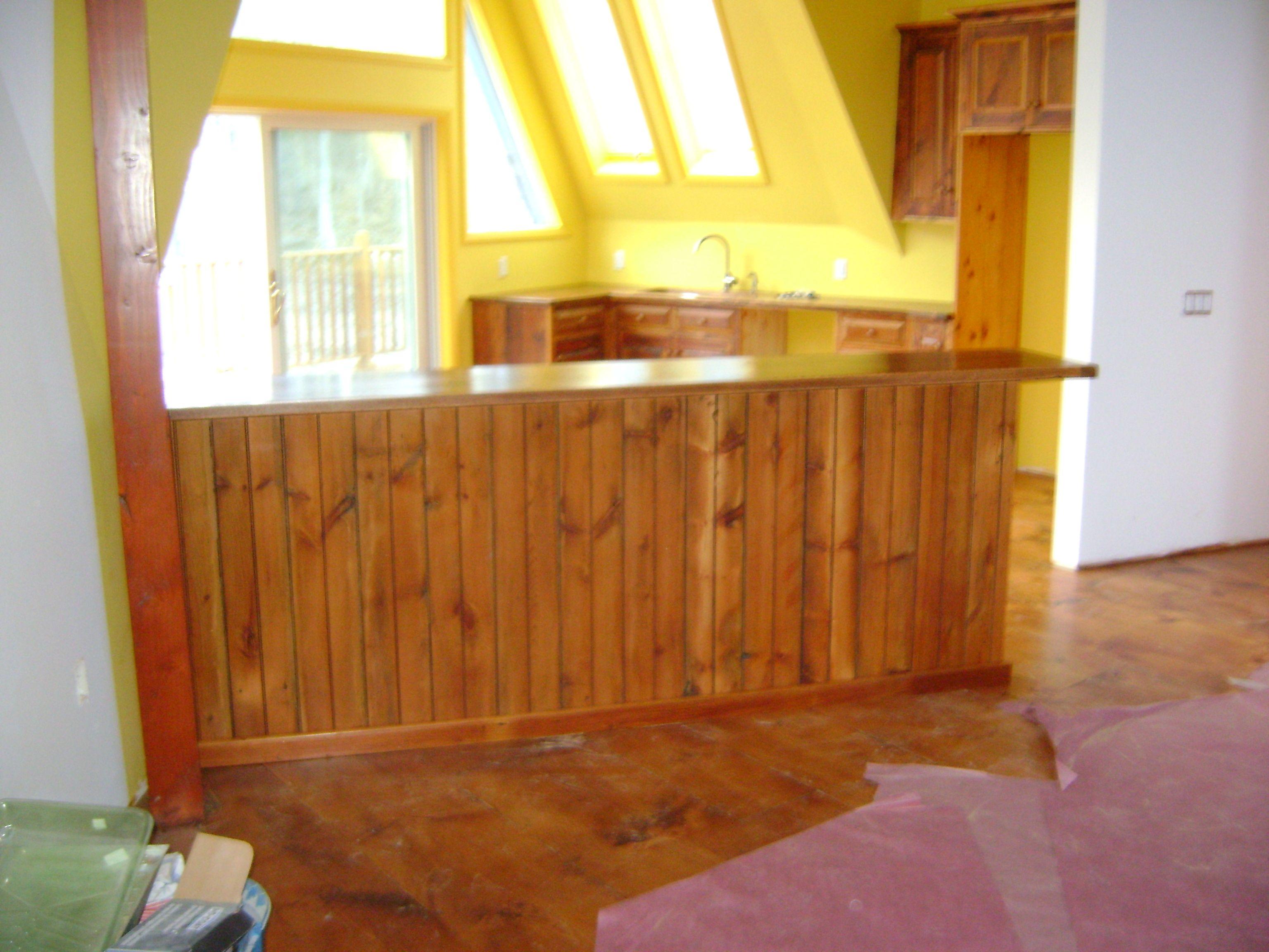 custom reclaimed barn wood kitchen and islands