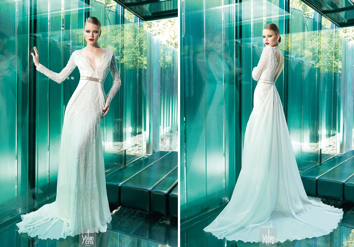 Amazing Vestidos De Novia Yolancris Contemporary - Wedding Ideas ...