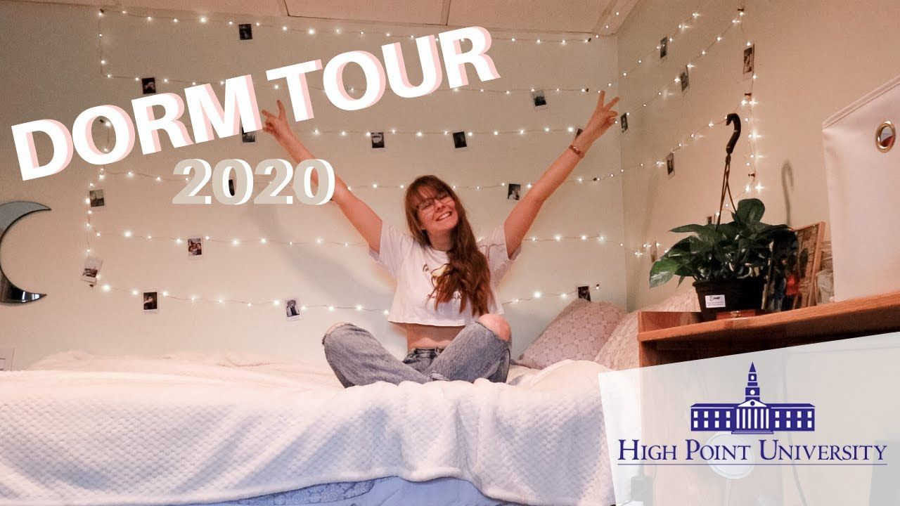 High Point University+Christmas 2020 COLLEGE DORM ROOM TOUR at High Point University ☆ aesthetic ☆ in