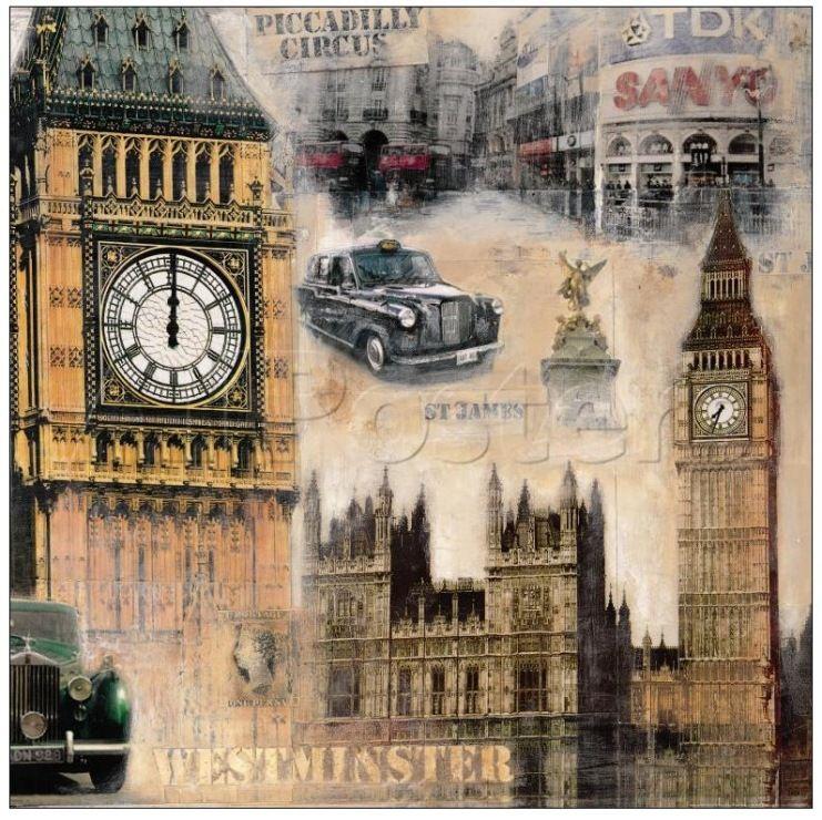 Красивые картинки, лондон в старых открытках