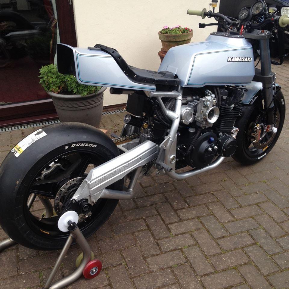 Kawasaki Z1R by Racefit Monoshock rear suspension