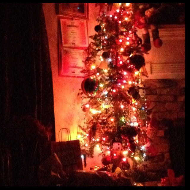 Christmas tree in my living room