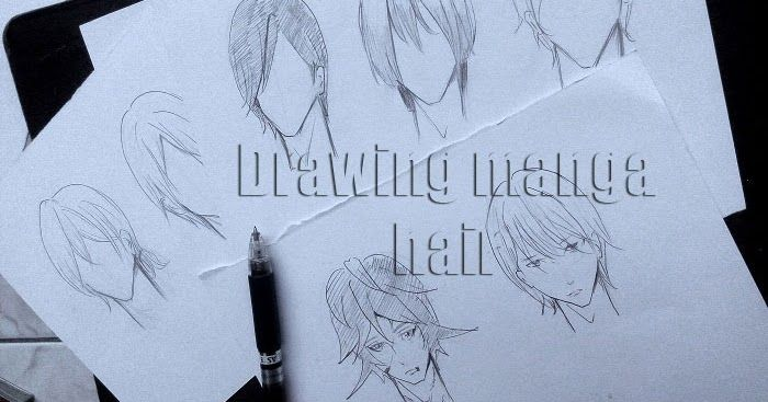 Cara Menggambar Rambut Manga Cowok Mayagami Rambut Manga Cara Menggambar Menggambar Rambut