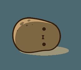 Kawaii Potato Sticker 14287236 Kawaii Potato Cute Potato Potato Drawing