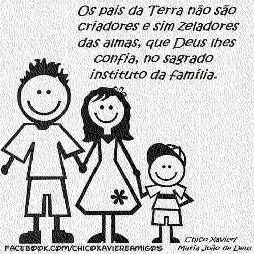 Chico Xavier Dia Da Crianca 12 10 2015 Desenho Familia