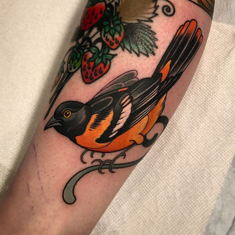 Pierson's George Costanza portrait tattoo