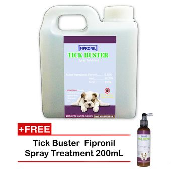 tick buster value pack anti garapata fipronil spray treatment for dogs and cats with free ticks. Black Bedroom Furniture Sets. Home Design Ideas