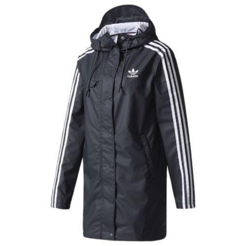 Adidas Originals Info Poster Rain Jacket Women S At Six 02