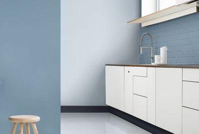 peinture color resist cuisine et bains bleu gris et bleu fjord peinture couture bleu stone