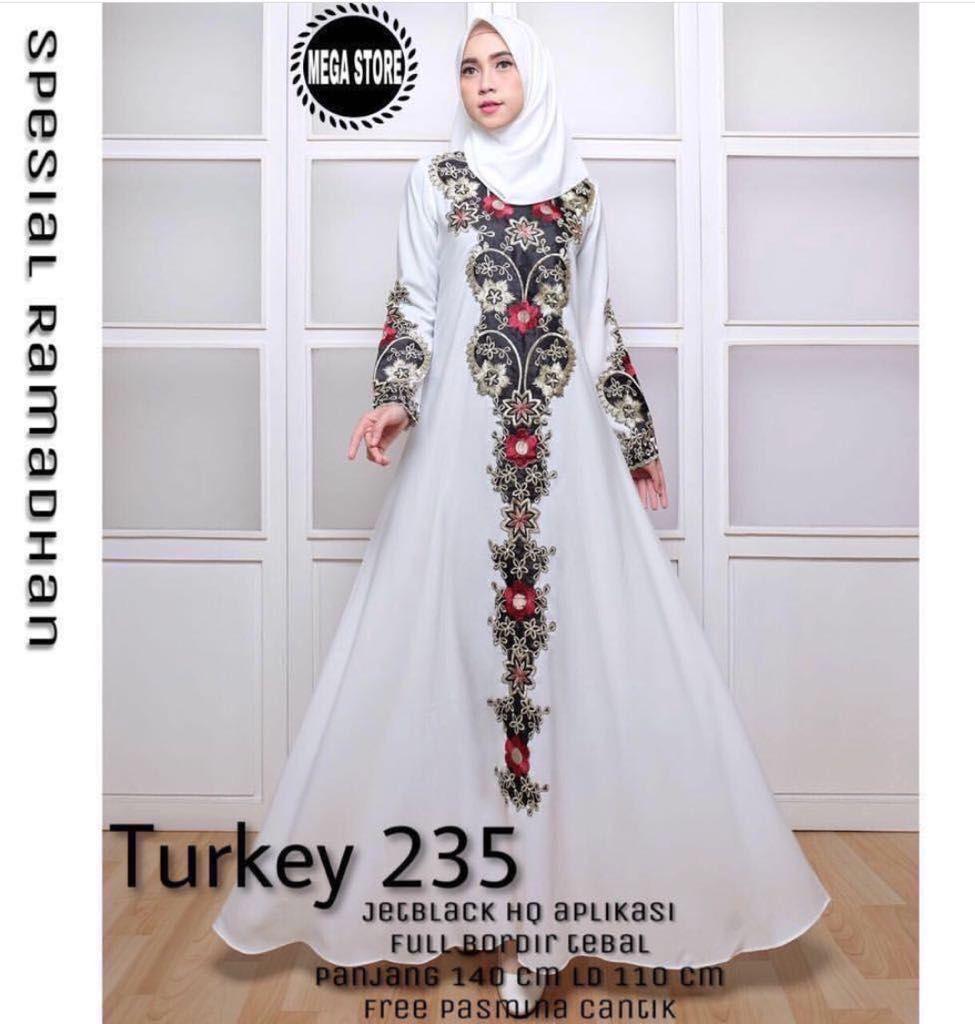 Turkey 235 with Free Pasmina Cantik Harga Rp 190,000