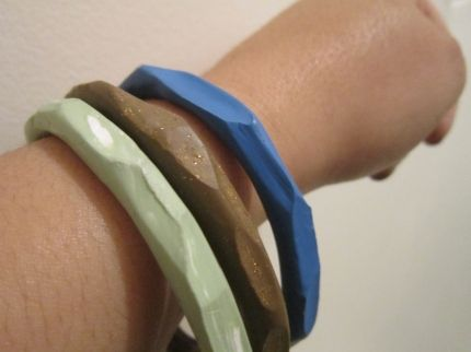 Faceted_Clay_Bangles