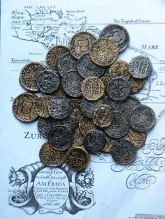 Casting Your Own Pirate Doubloons Party Decorations Pinterest