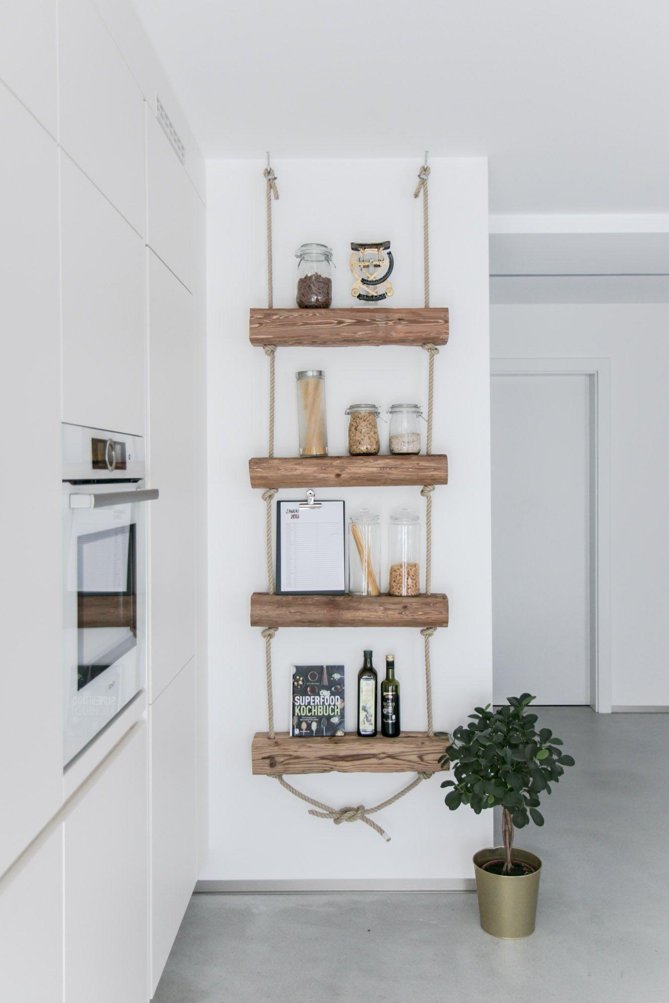 DIY Regal: Regal aus Altholz zum Selbermachen mit Anleitung #zuhausediy