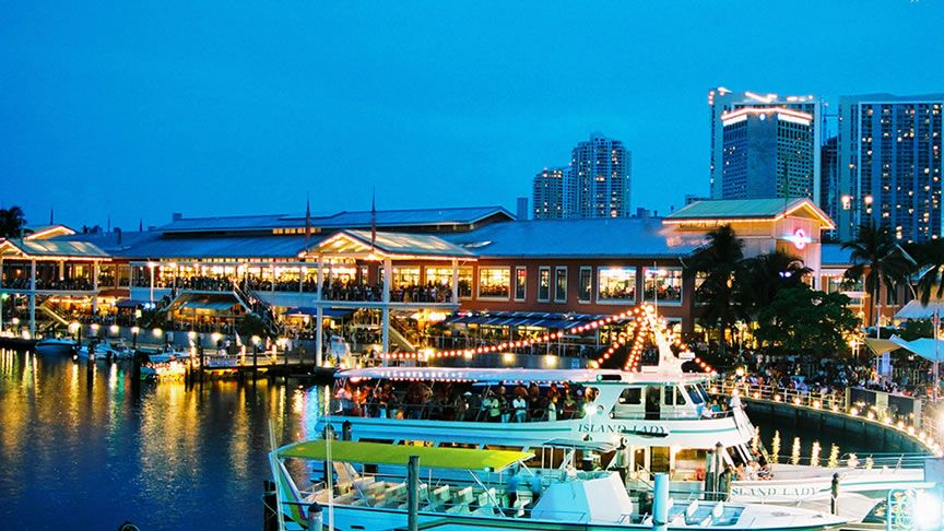 Bahamas Miami attractions, Bayside marketplace, Downtown