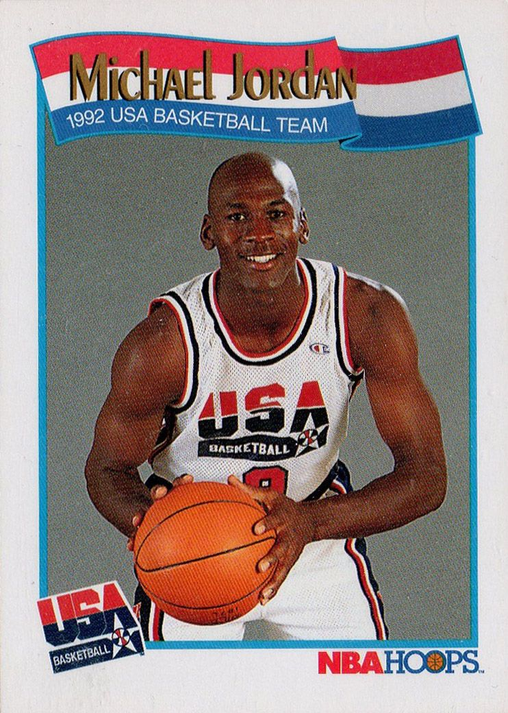1992 nba hoops usa basketball michael jordan usa