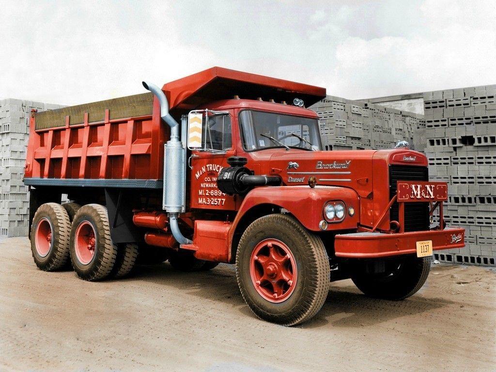 Brockway Diesel Dump Truck U S A In 2020 Dump Trucks Trucks Big Rig Trucks