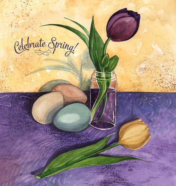 Celebrate Spring - April Cover Art