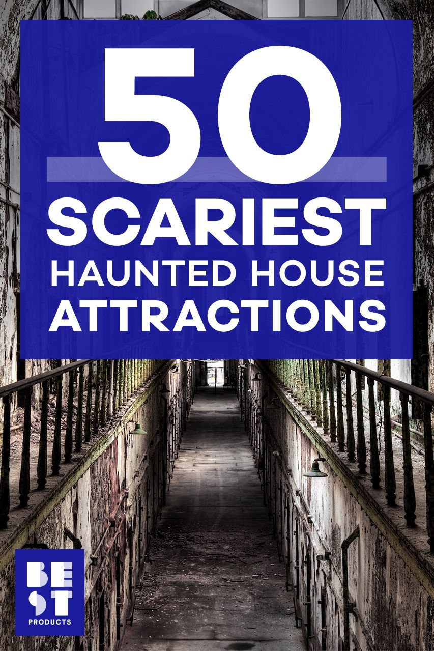 Could You Survive The 50 Scariest Haunted House