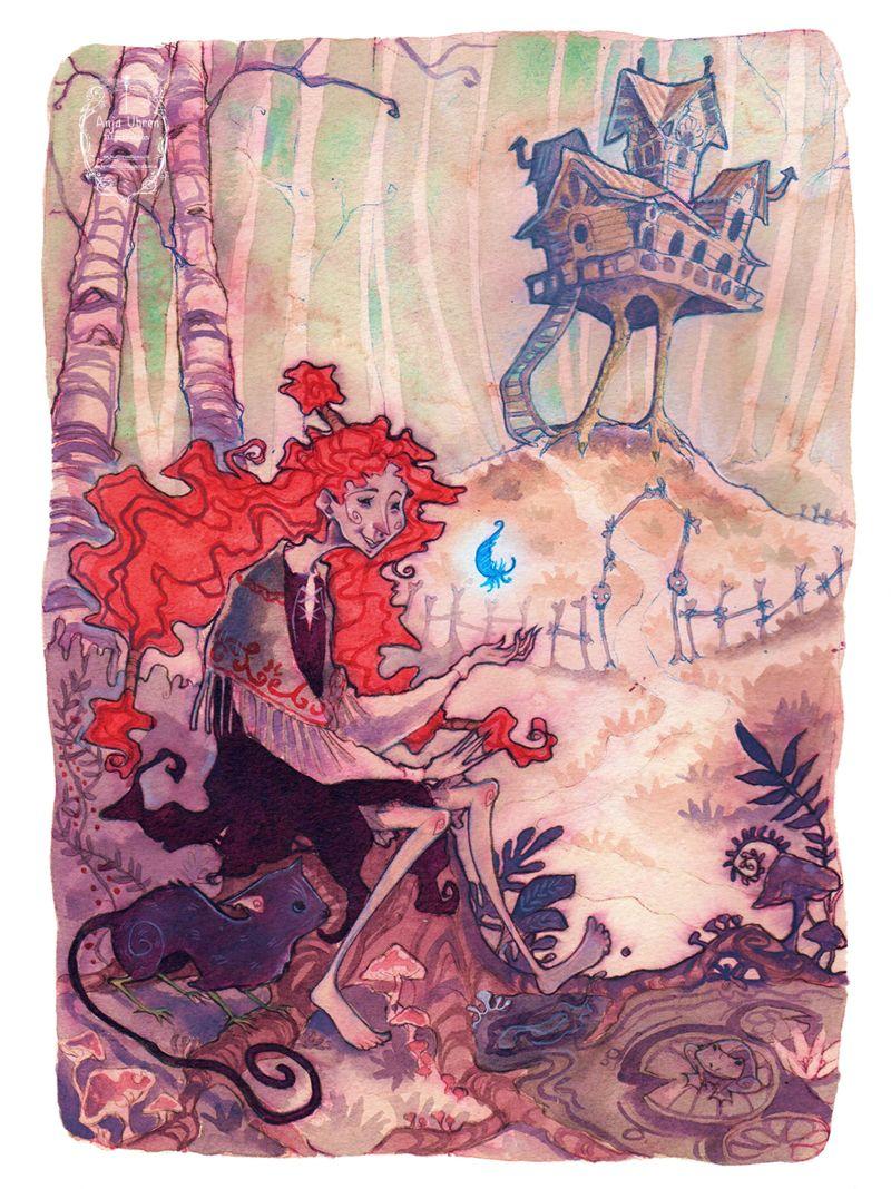 Katschawatscha - 'The Blue Feather' by Miss-Belfry.deviantart.com on @deviantART