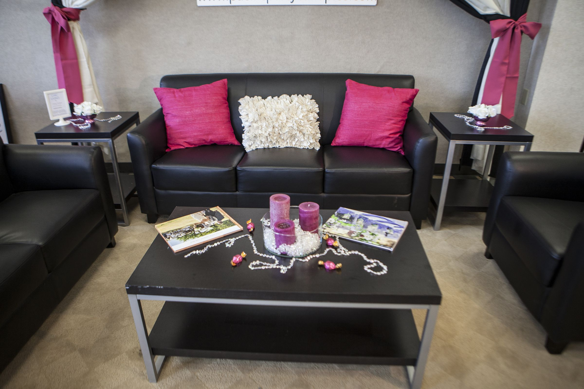fuschia furniture. A Modern Black And Fuschia Wedding/party Theme With Lounge Furniture. Rentals From Http Furniture S