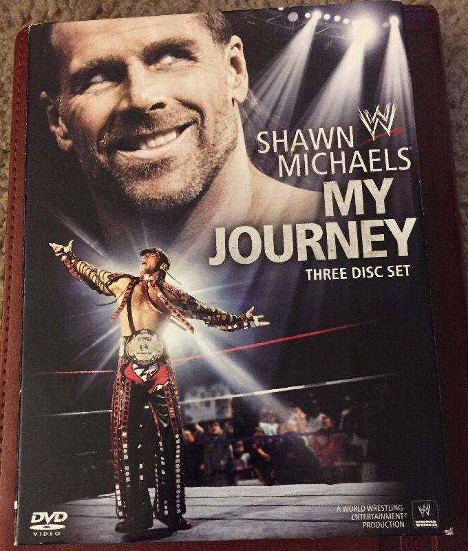 Wwe Shawn Michaels My Journey Dvd 2010 3 Disc Set Shawn