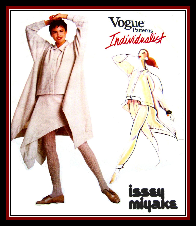 Vintage 1988-ISSEY MIYAKE-Top-Pants-Skirt -Vogue Designer Sewing ...