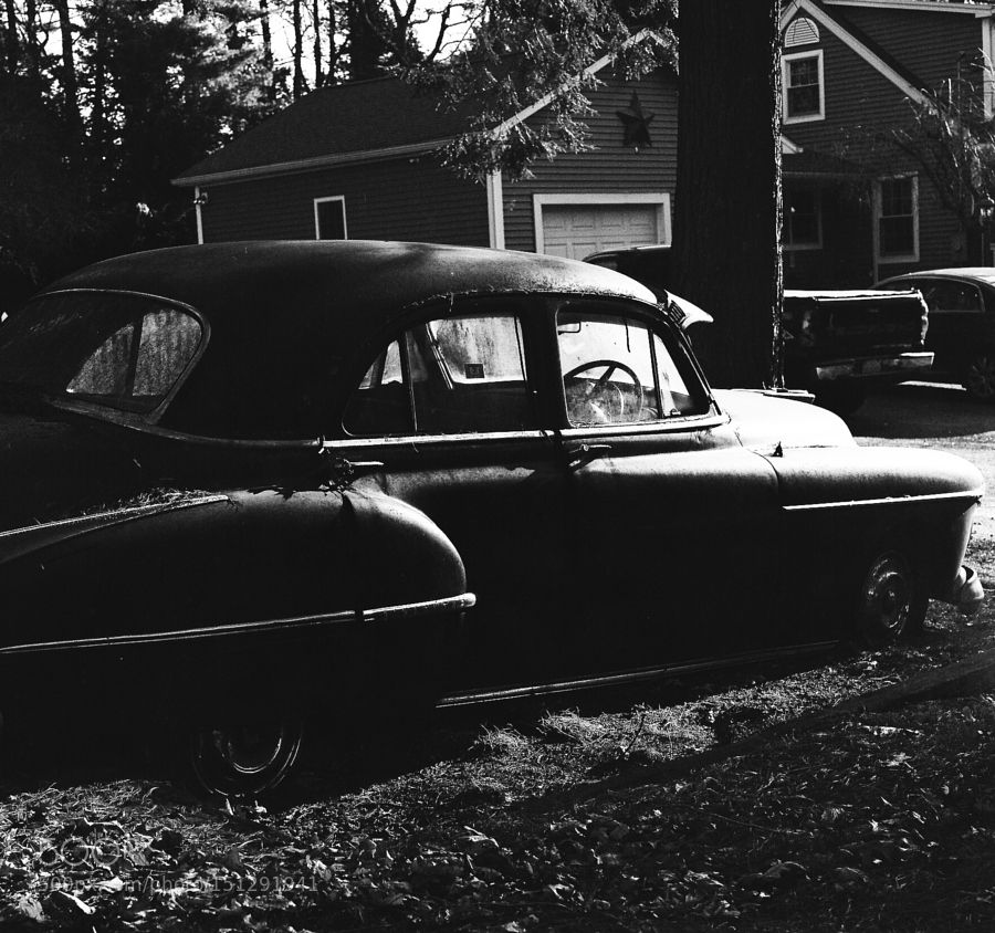 Oldsmobile by airala Film Photography #InfluentialLime