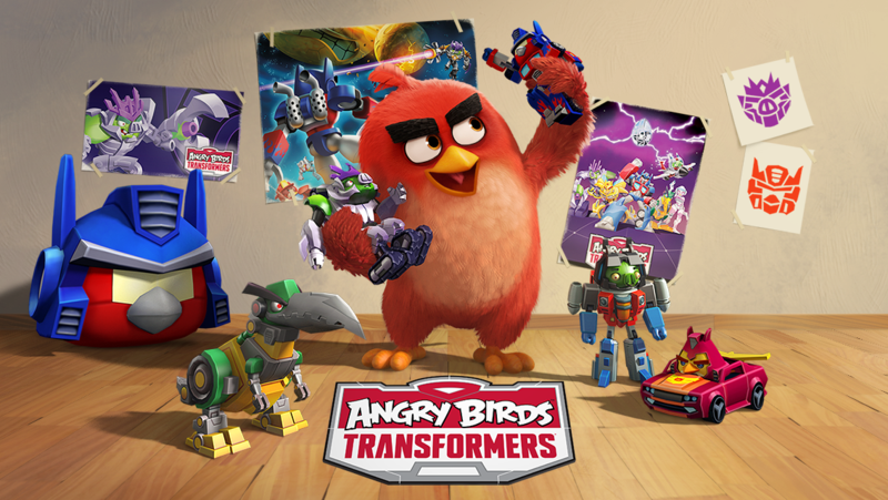 Android Apps Apk Mod Angry Birds Transformers V1 16 4 Mod Coins God Mode Unlock Angry Birds Transformers Gratis