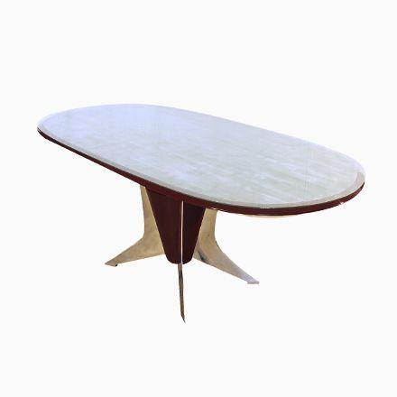 Italienischer Ovaler Esstisch, 1950er Jetzt bestellen unter https - esszimmer italienisch