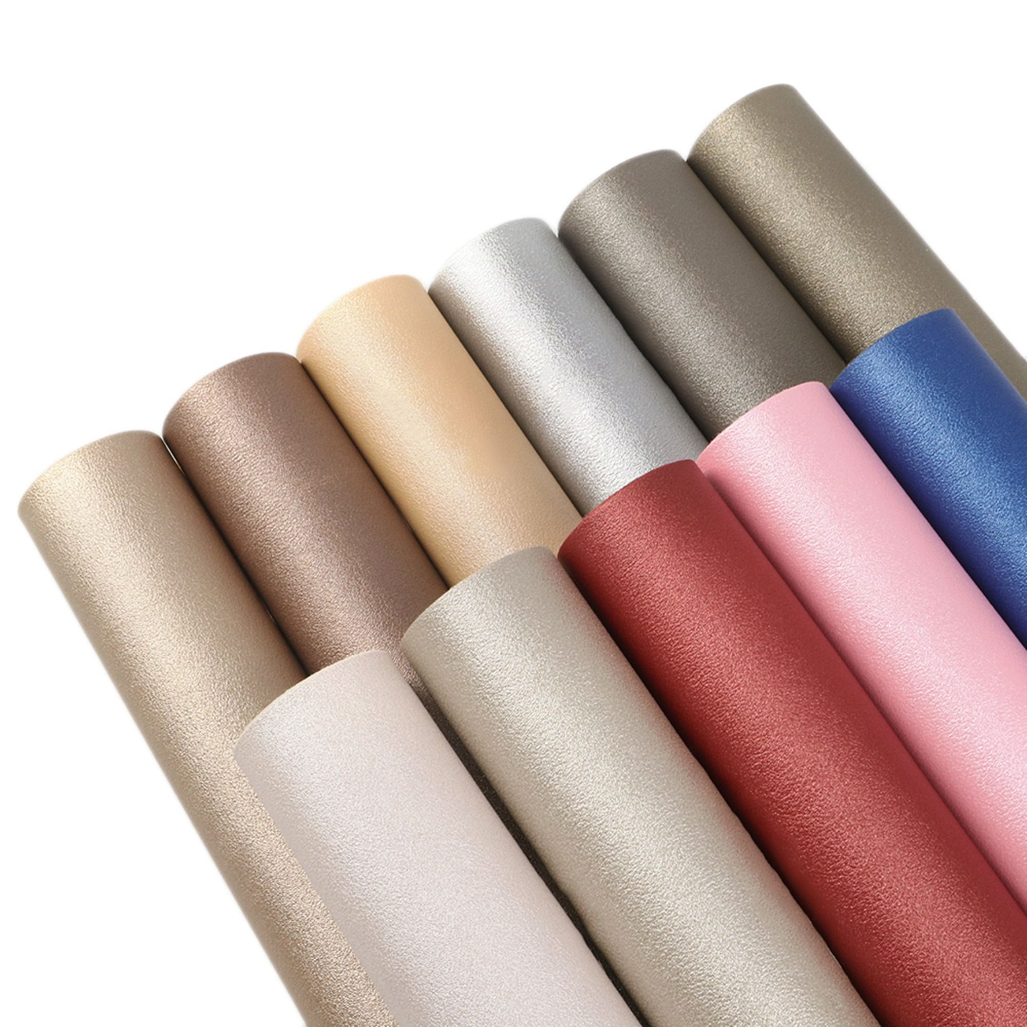 Faux Leather Fabric By The Yard Vegan Faux Leather Leatherette Fabric For Bows Bags Metallic Sewing Synthetic Leather 19 By 55 Inch