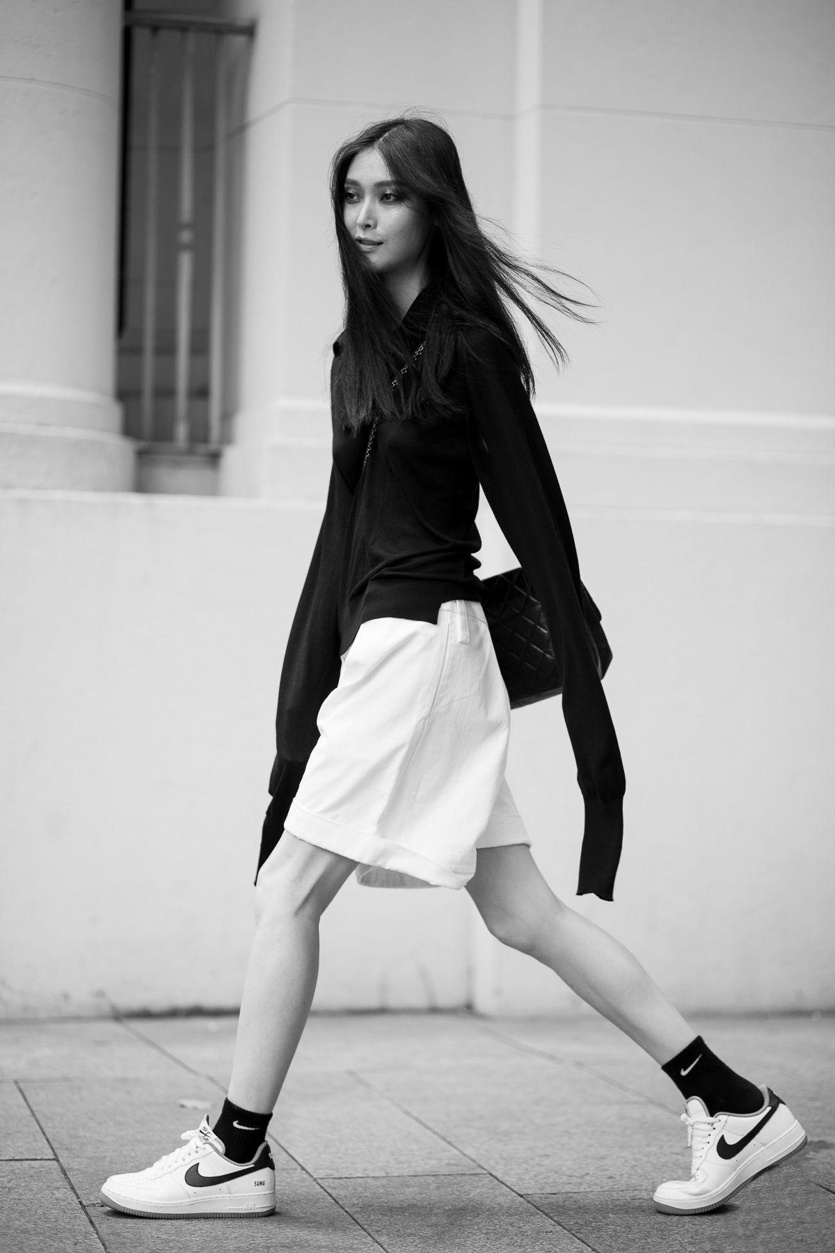Sung Hee Kim, MFW F/W 2014 by Daniel Bruno Grandl.