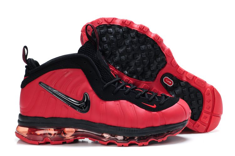 meet 3cb92 0d6e8 Foamposite Air Max Fusion Men Pro Red