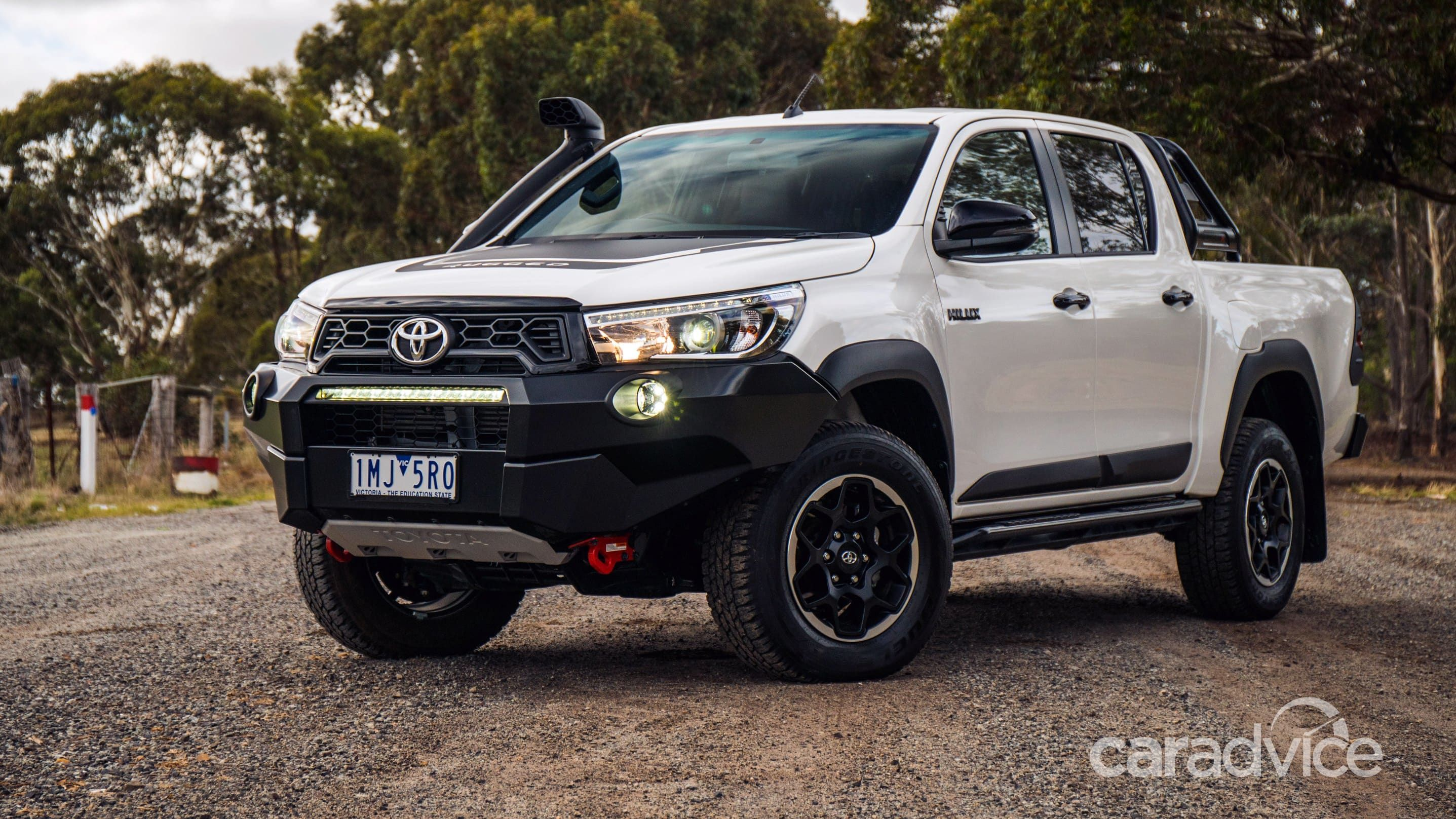 2018 Toyota Hilux Rugged X Manual Review Photos Caradvice Luxury Cars