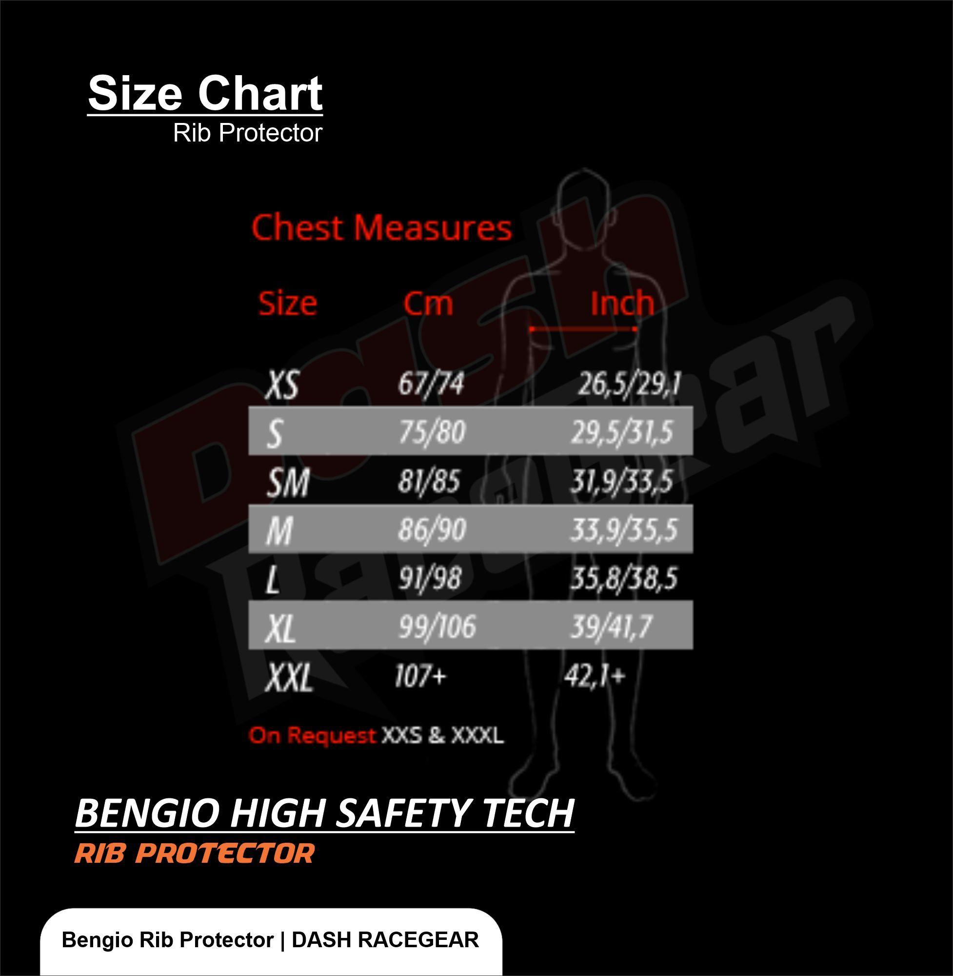 Bengio Bumper Standard Rib Protector In 2020 Fit Back Protector Rib