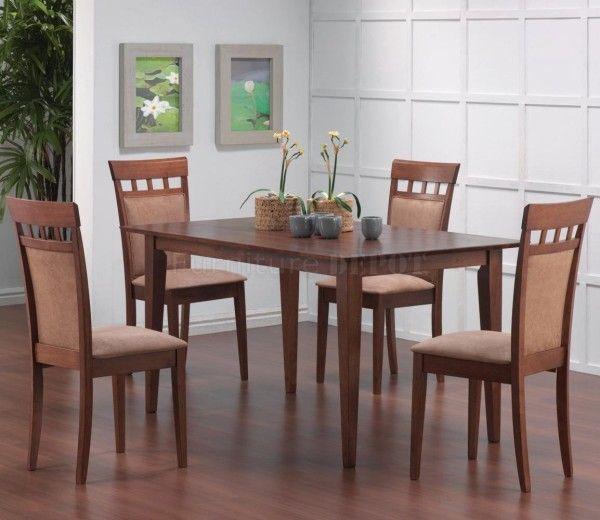 juego comedor sillas y mesa de madera nidia maria