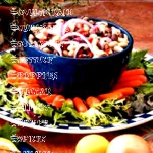 Kidney Bean Salad Recipe I use both cans of beans swap the olives for cucumbers and tomatoes  maybe bell peppers use sugar in the raw andor agave nectar add to or change...