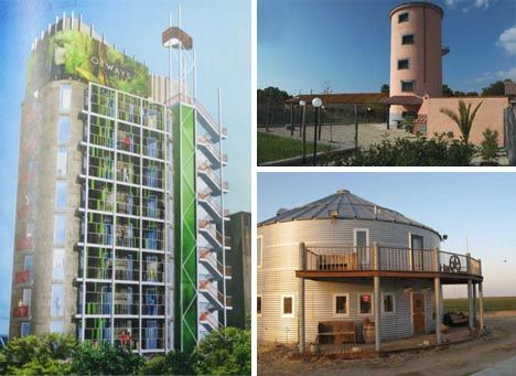 Silo hotel other silo could be used as child 39 s for Decor hotel fil