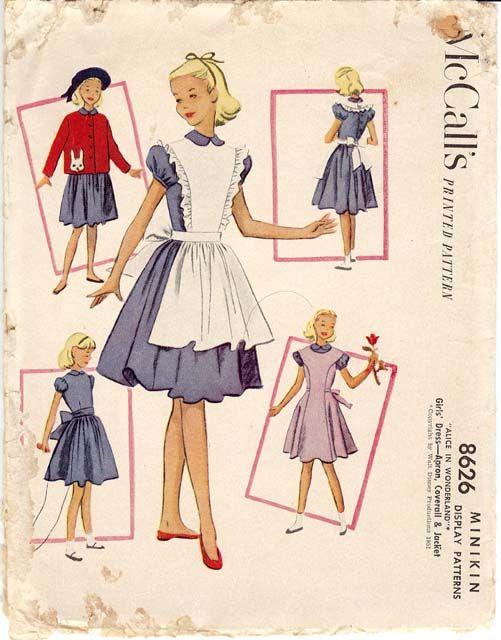 Vintage Minikin Pattern Vintage Mannequin Dolls