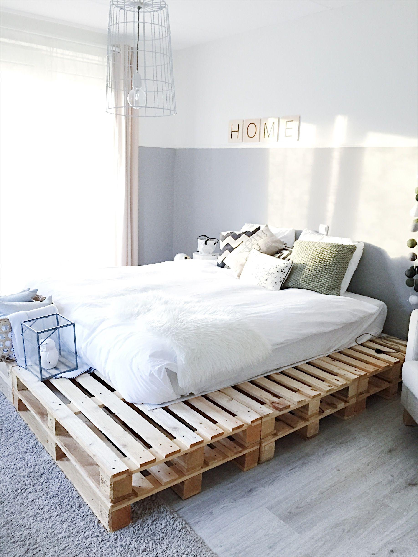 Pallet Bed Frames Bedroom Decor