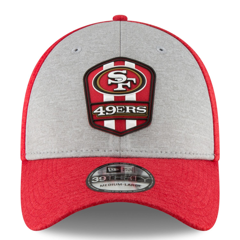 5df06fc06ed36 Adult New Era San Francisco 49ers Sideline Road 39THIRTY Flex-Fit Cap   Francisco