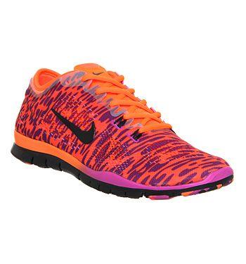 nike free 5.0 tr fit 4 magenta black cheetah shoes