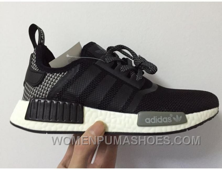160ff4101d7a1 ADIDAS NMD PK RUNNER MEN BLACK GREY SHOES CHRISTMAS DEALS PEPW4 Only  91.00