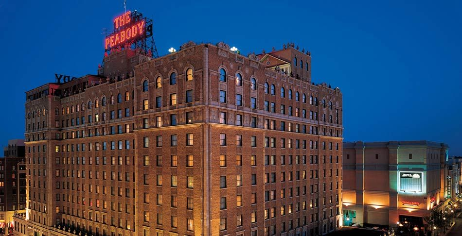 Downtown Memphis Hotels The Peabody Tennessee Conference Centers