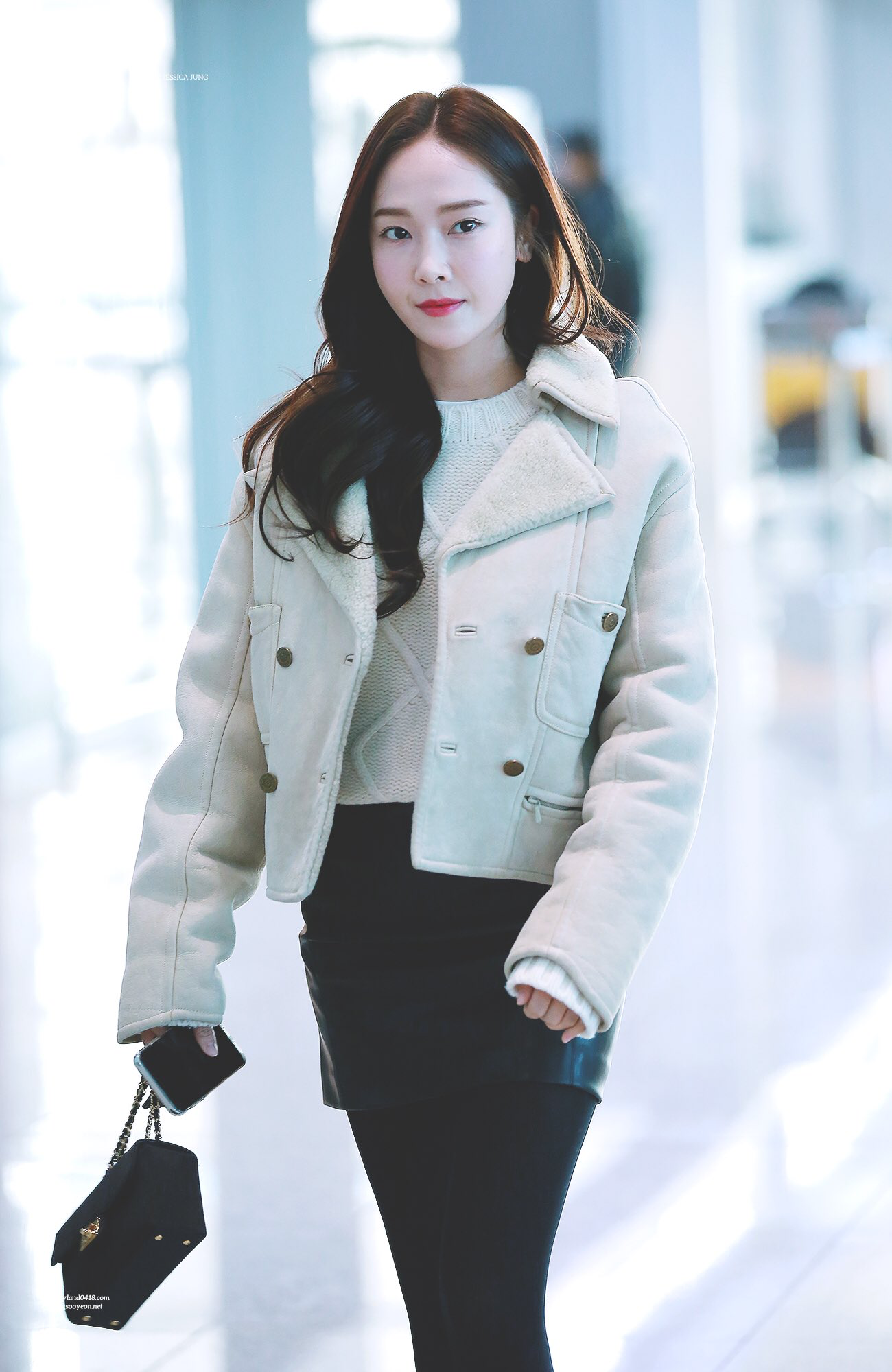 180126 Jessica Jung Airport K Idol