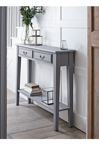 Grey Console Table Console Tables Tables Furniture Hall Table Decor Hallway Console Small Console Tables